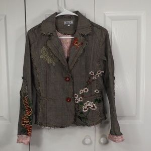 P&M Boho Steampunk Electic Chic Jacket L